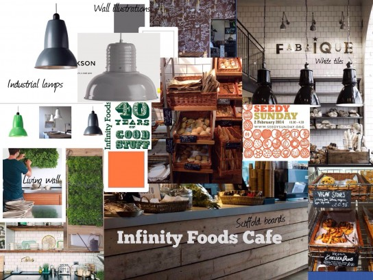 Infinity Foods Cafe Interior